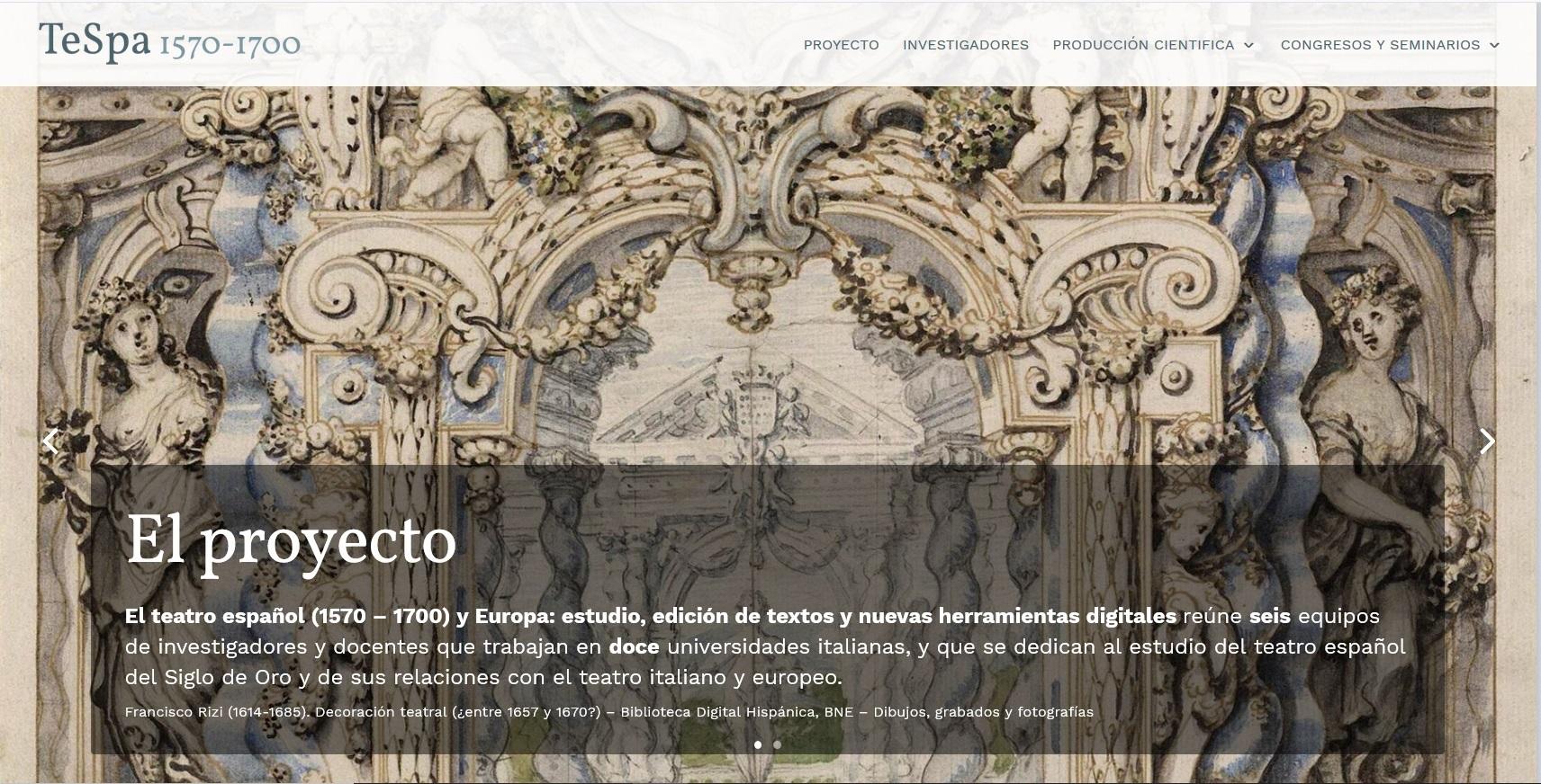 Il patrimonio culturale del teatro europeo_LINGUE