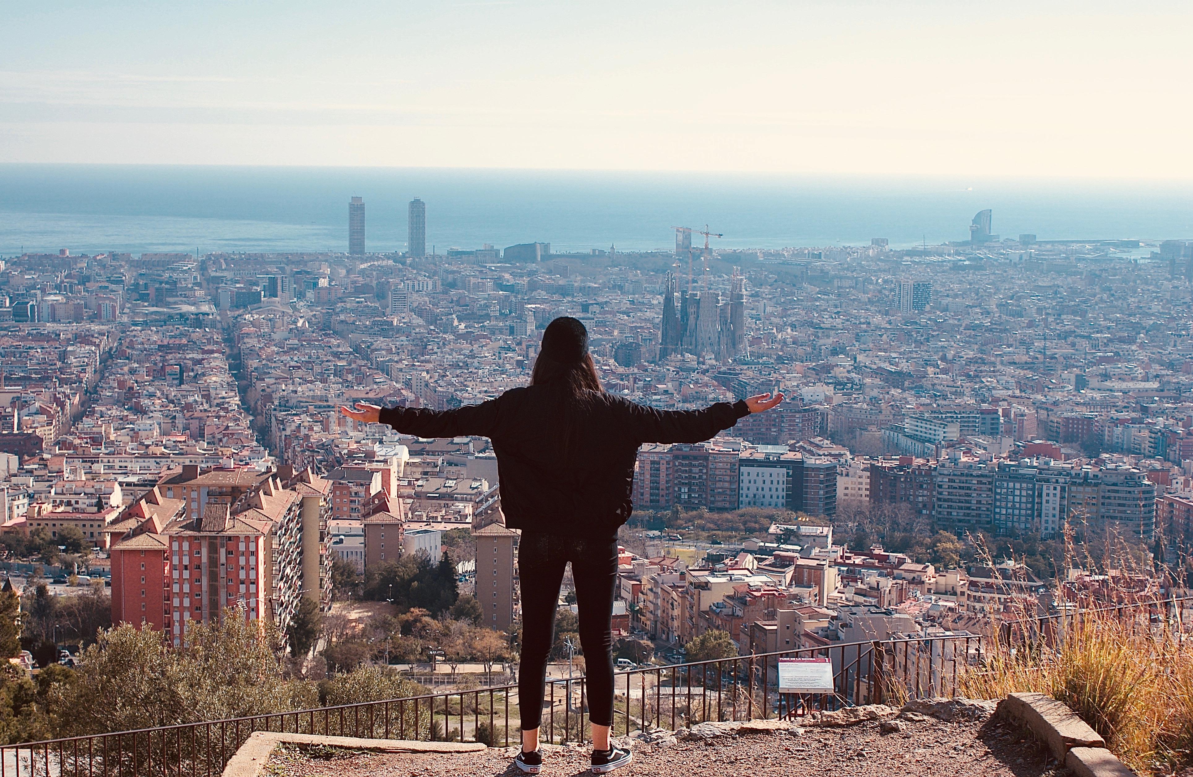 studenti a Barcellona